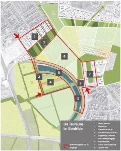 Das Kerngebiet der geplanten Bundesgartenschau.