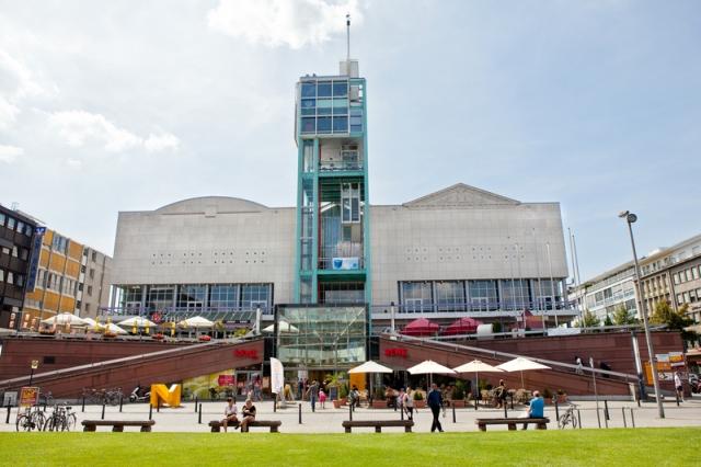 Der Veranstaltungsort Stadthaus. Quelle: Stadtmarketing Mannheim
